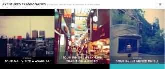 Tenue d'un blog de voyage - Communication digitale (culture, tourisme)